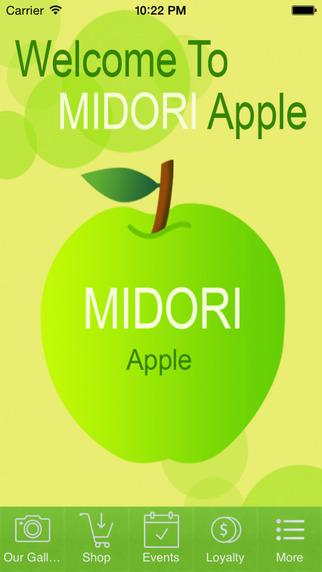 MIDORI Apple