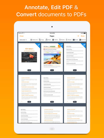 PDF Max 5 Premium - Fill forms, edit & annotate PDFs, sign documents Screenshots