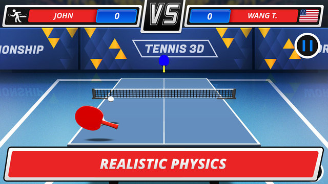 Table Tennis 3D - Virtual Championship FREE