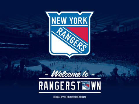 New York Rangers Schedule Wallpaper Ipad Screenshot 1