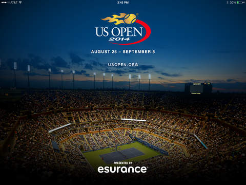 2014 US Open Tennis Championships for iPad