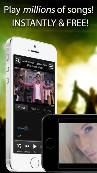 BackTube for VEVO YouTube Music Player - Background video play