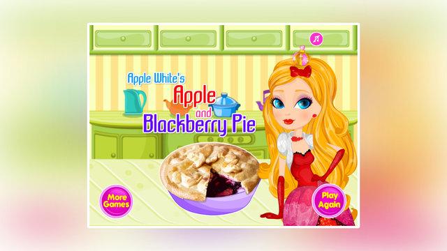 Apple White's Apple And Blackberry Pie