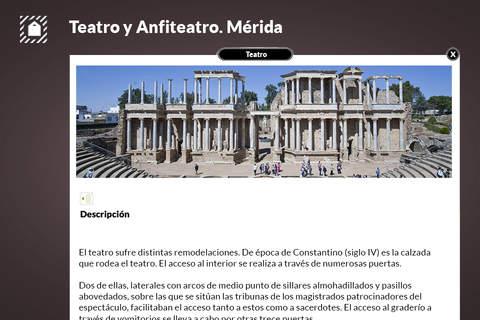 Teatro y Anfiteatro de Mérida screenshot 3