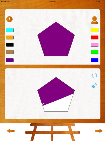 Color Palette : Coloring and learning app for toddlers and preschoolers