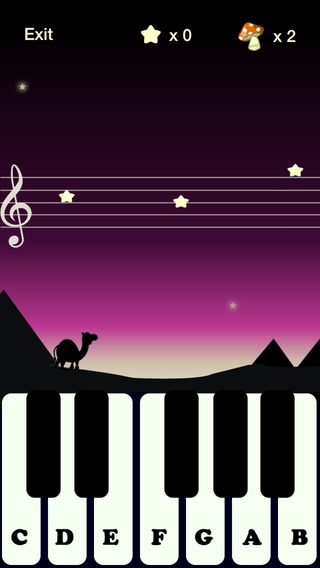 Star Notes - Read Sheet Music Game