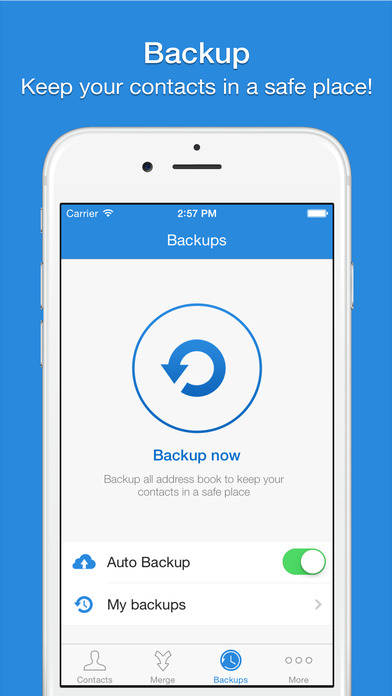 Smart Merge Pro - Cleanup Duplicate Contacts Apps free for iPhone/iPad screenshot