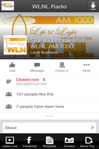 WLNL Radio screenshot 1