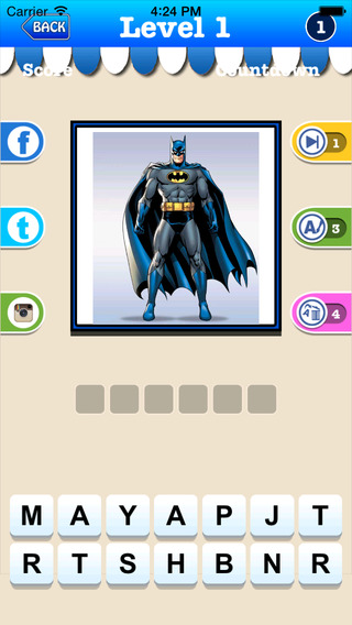 Superhero Trivia Game- How well do you know your Superheroes