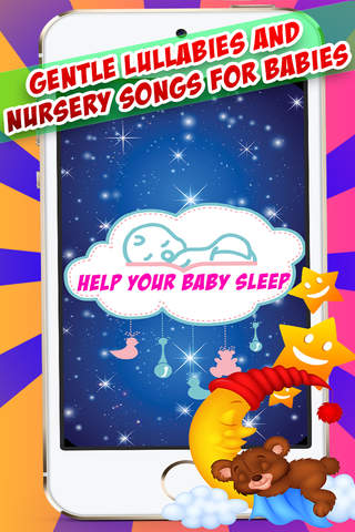 Bedtime Sleep Songs - Relaxing lullabies, ballads, and nursery music for babies screenshot 2