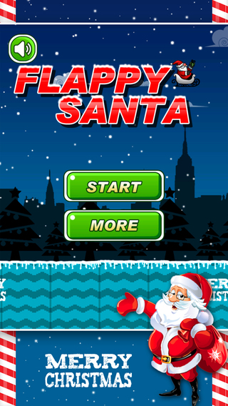 Flappy Santa Claus : Christmas Special