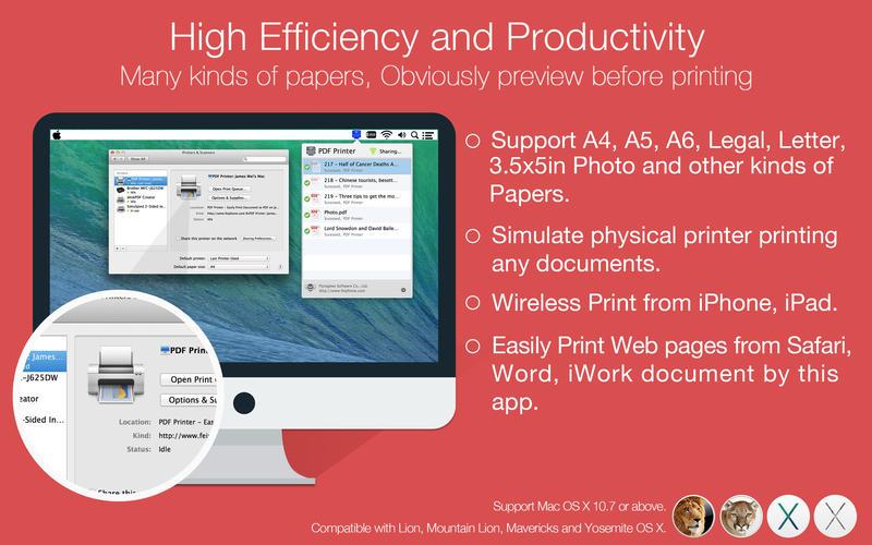PDF Printer Lite Screenshot - 4