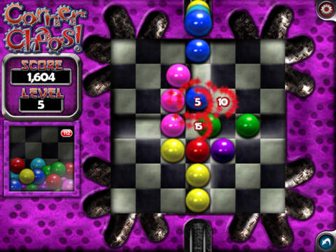 CornerChaos iPad Screenshot 1