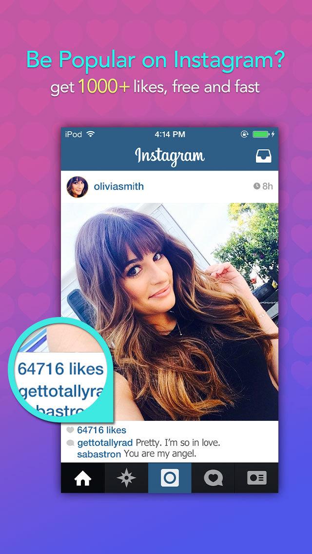 get likes on instagram app