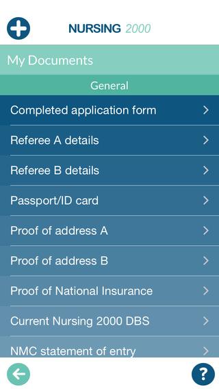 Nursing2000 Candidate App