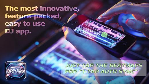 Touch DJ™ Evolution - Visual Mixing Key Lock AutoSync