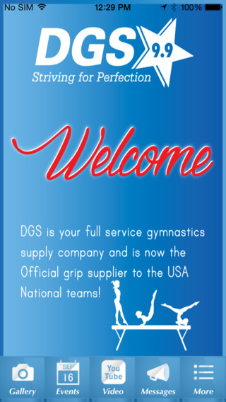 DGS Deary's Gymnastics Supply