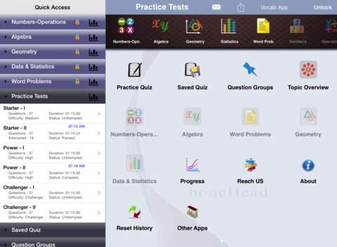 6 SAT Practice Tests (Math) iPad Screenshot 5