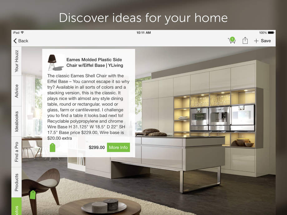 Houzz Interior Design Ideas - iPhone Mobile Analytics and App Store Data