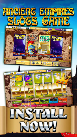 Age of Anarchy Casino - Endless Empire Slots Clash of Skyward Immortals Free