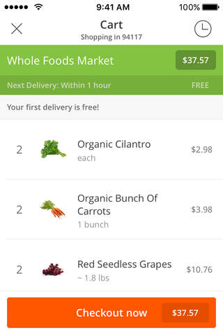 Instacart screenshot 3
