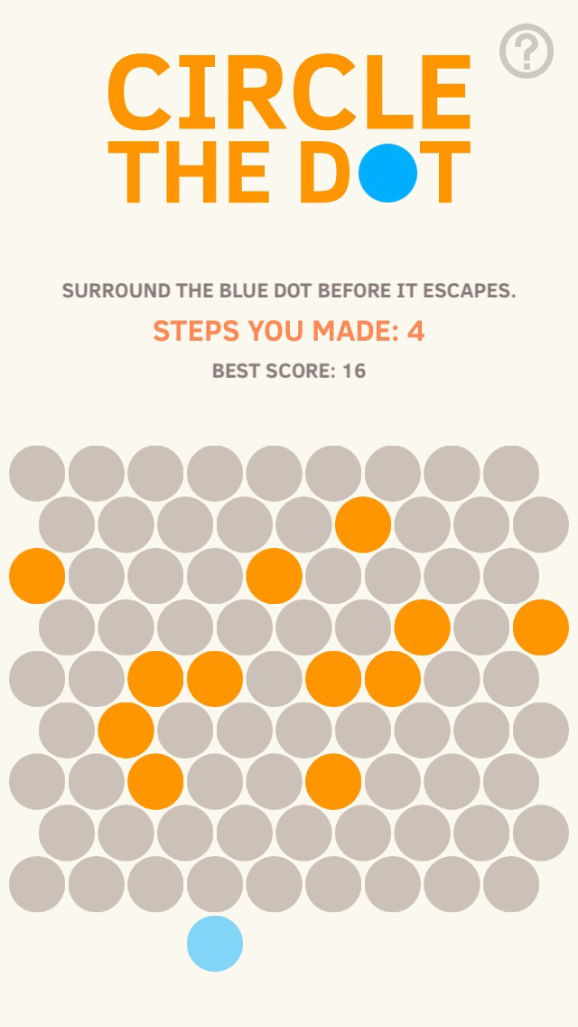 Screenshots of Circle The Dot for iPhone