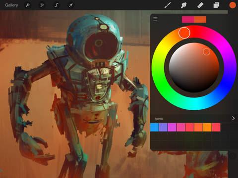 Procreate – Sketch paint create.