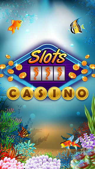 Lucky Slots - An Underwater World with Wheel Deal Prizes Real Moolah And Sloto Max Bets