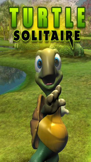 Real Easy Deluxe Turtle Solitaire Fun Blast 3d Card Game