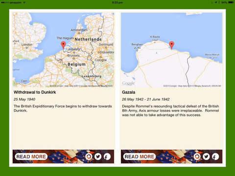 WW2 Daily iPad Screenshot 1