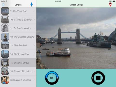 London Giracittà - Audioguide iPad Screenshot 1