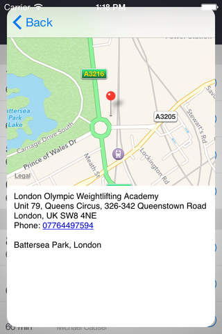London Weightlifting Academy screenshot 3