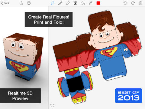 Screenshot #2 for Foldify - Create, Print, Fold!