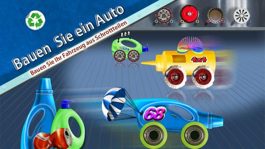 Bauen Sie einb Auto - Bauen Sie Ihr eigenes Fahrzeug aus Schrottteilen – Werkstatt-Spiel für kleine