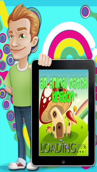 Animal Magic Match 3 Kingdom™ - Touch Impossible Touchscreen Freedraw Candy Series