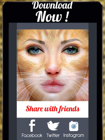 Screenshots of Animal Face Animation - Funny Movie Maker With Blend,Morph & Transform Effect for iPad
