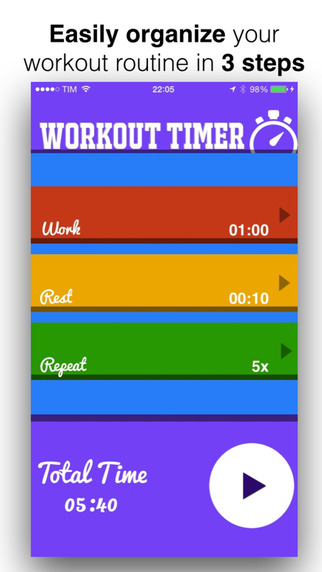Workout Timer - Clean and Simple Fitness Assistant
