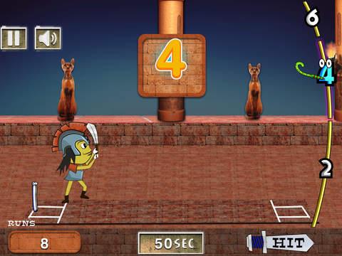 Ultimate Cricket Warrior Hero - super cricket cup batting match iPad Screenshot 1