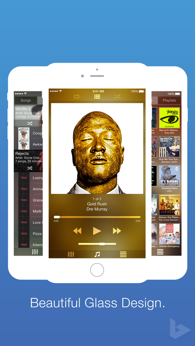 Blend Music Player Screenshots