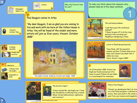 Digital Mysteries: Vincent van Gogh Art English