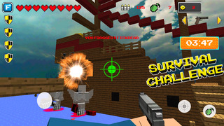 MC Build Battle: Survival Mini game with Worldwide Multiplayer  Screenshot