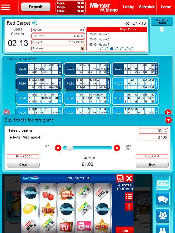 App shopper mirror bingo games for Mirror bingo