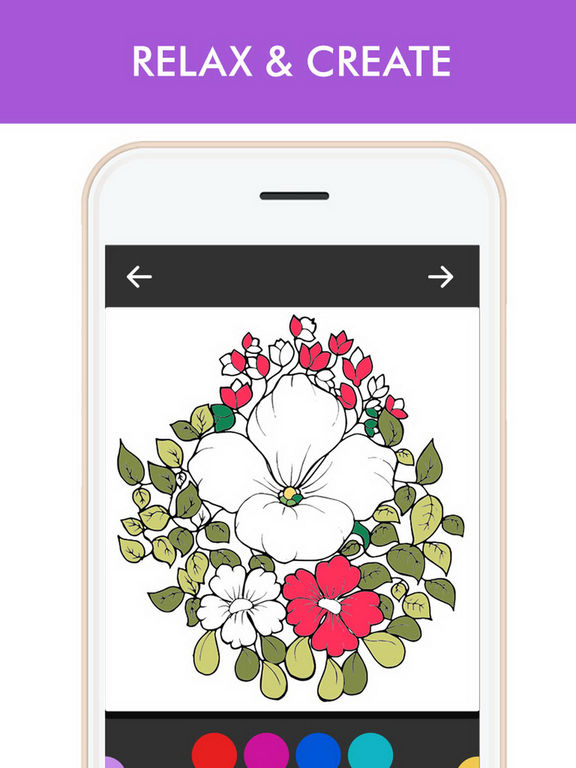 App Shopper Adult Color Therapy Pages