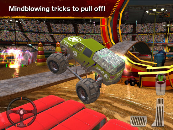 Monster Truck Arena Stunt Driver screenshot 9