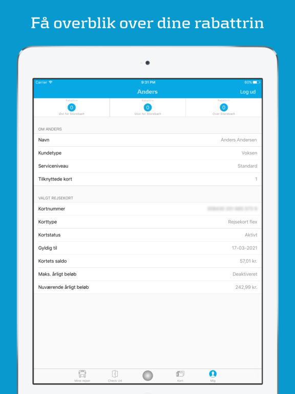 app til rejsekort