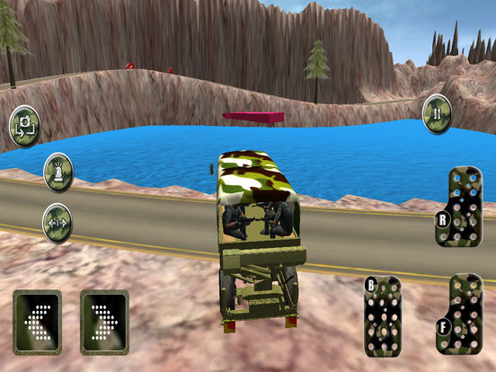 Military Speed Truck Drive Game Скриншоты10