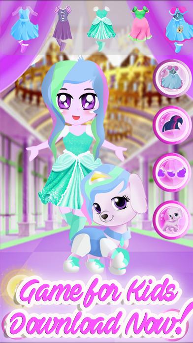 Pony Pet Friendship Dress Up Games screenshot 3