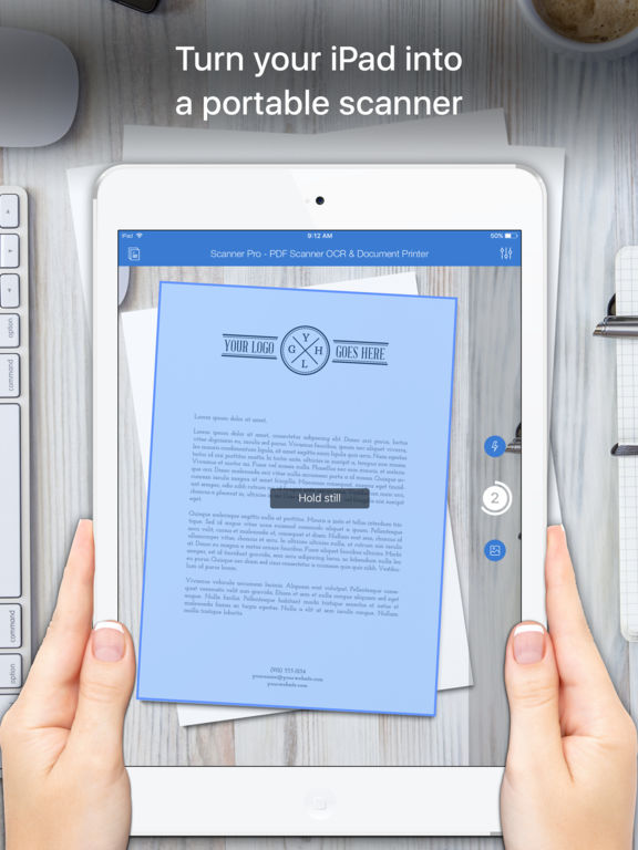 Screenshot #1 for Scanner App - PDF Scanner OCR & Document Printer