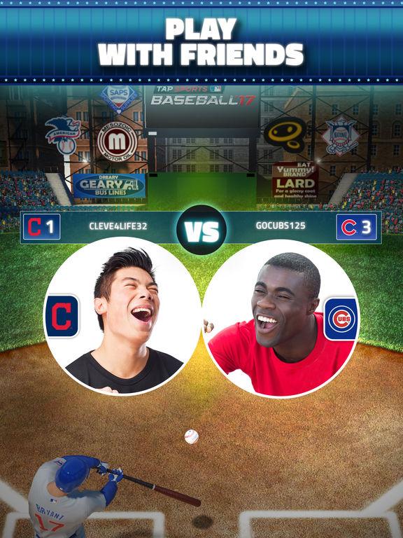 Image of MLB Tap Sports Baseball 2017 for iPad