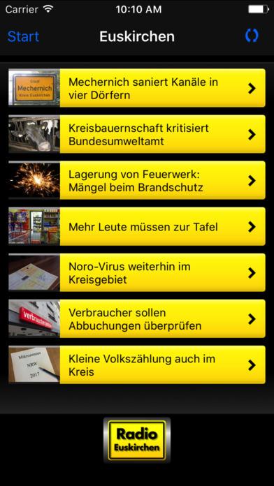 Radio Euskirchen iPhone Screenshot 4